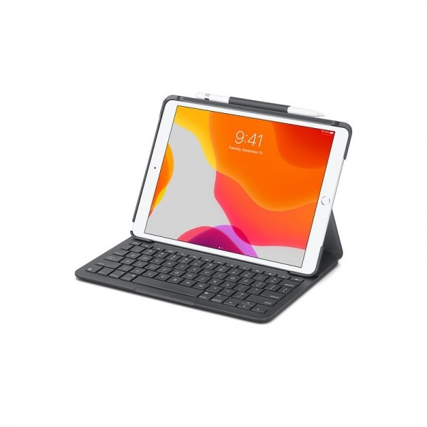 Logitech Slim Folio Case with Integrated Bluetooth Keyboard (iPad Air 3세대)